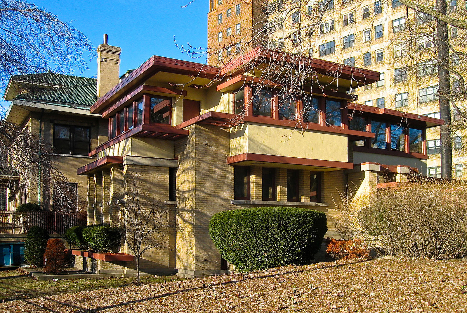 The Emil Bach House in Rogers Park Chicago