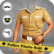 Men Police Suit Photo Editor 2019 - Police Dress