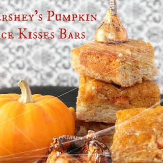 Hershey's Pumpkin Spice Kisses Bars