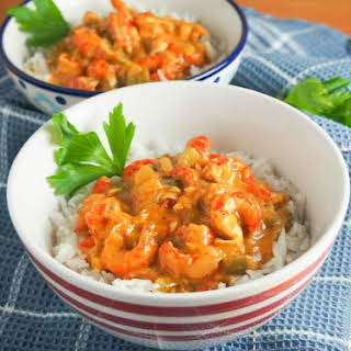 Crawfish Etouffee (lightened Up).