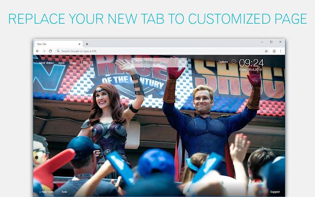 The Boys Wallpaper HD Custom New Tab