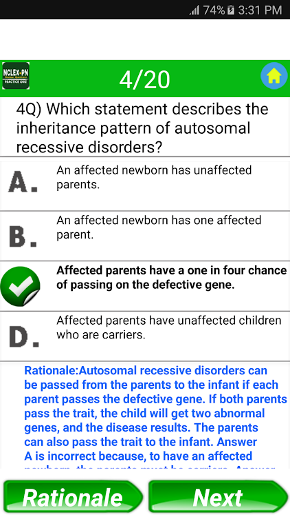 NCLEX-PN Exam Review Questions – (Android Apps) — AppAgg