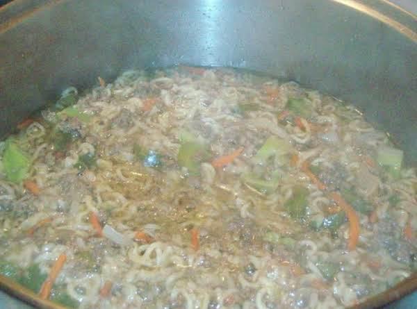Poor Family Beef Veggie Soup