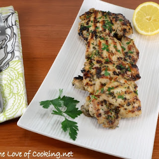 Herb, Lemon, and Garlic Chicken Thighs Recipe