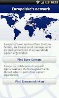 Screenshot of Europeiske App