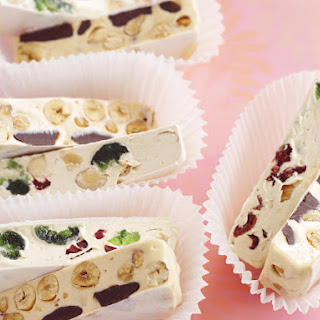 Cranberry, Almond and Cherry Nougat