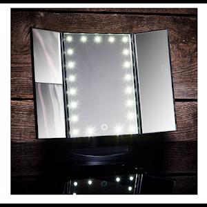 Oglinda cosmetica LED extensibila