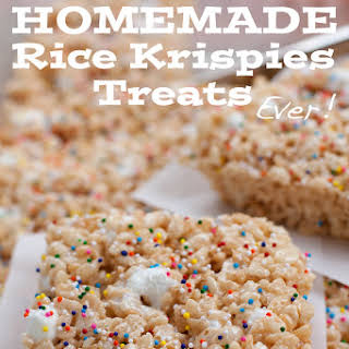 The Best Rice Krispies Treats EVER.