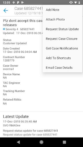 Cisco Technical Support screenshot 1