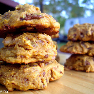 Pumpkin Toffee Cookies