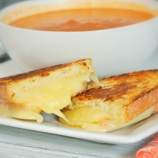 Muenster and Havarti Grilled Cheese