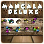 Mancala Deluxe Board Game Icon