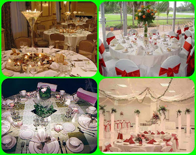 Wedding table decoration apps on google play screenshot image junglespirit Images