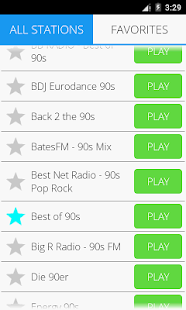 90er Musik Radio Pro Screenshot