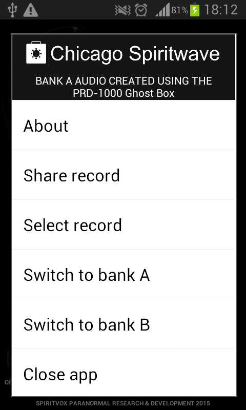 "SV-2 SpiritVox ""Ghost Box"" SV1 - screenshot"