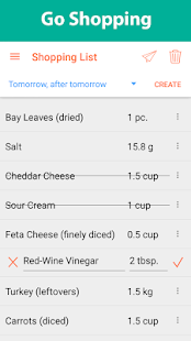 Recipe Calendar - Meal Planner- screenshot thumbnail