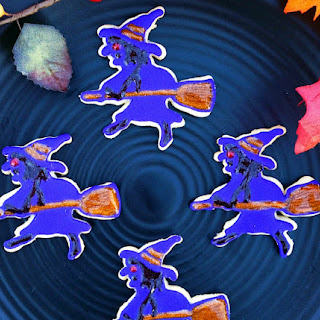 Easy Halloween Sugar Cookies Recipe- The Witches