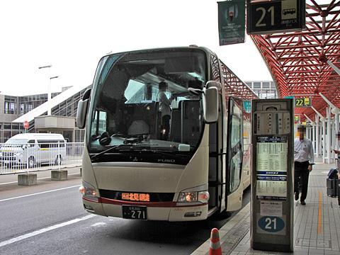 網走バス「千歳オホーツクエクスプレス」 ・271 新千歳空港にて_01