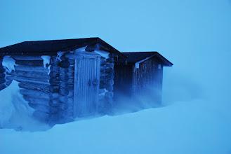 Kuva: Tämän tuulen mukana tuli reippaasti uutta lunta.