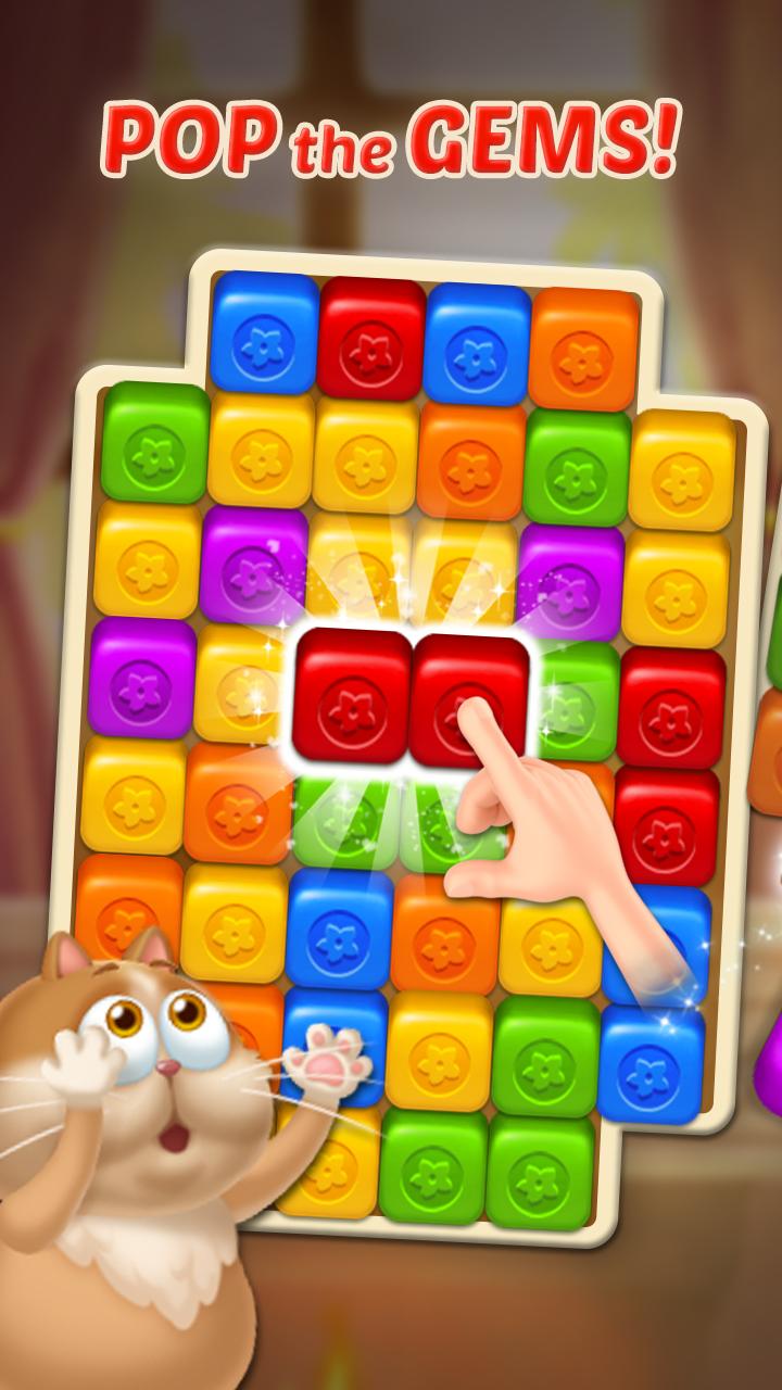 Gem Blast: Magic Match Puzzle Screenshot 0