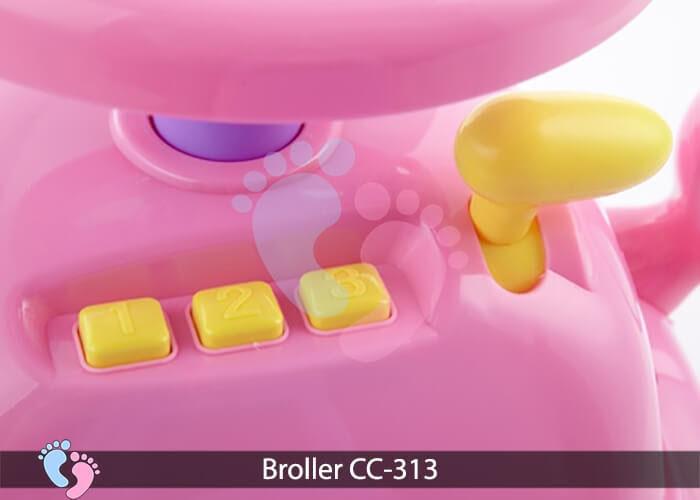 Xe chòi chân oto Broller CC 313 13