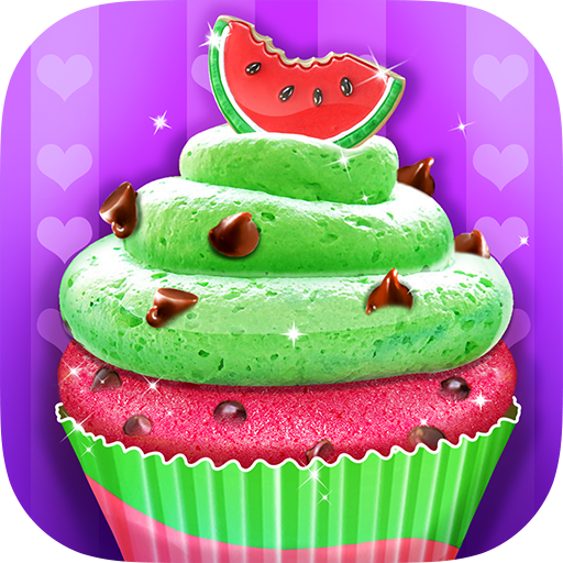 Watermelon Cupcake - Summer Desserts Maker Android APK Download Free By Kid Kitchen Fun Media
