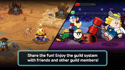 Code Triche LINE Rangers - simple rules, exciting RPG battles! APK MOD screenshots 4
