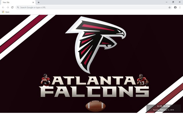 Atlanta Falcons New Tab