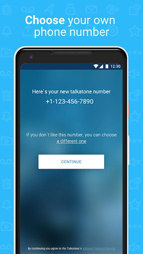 Talkatone: Free Texts, Calls & Phone Number 6.4.12 Screenshots 7