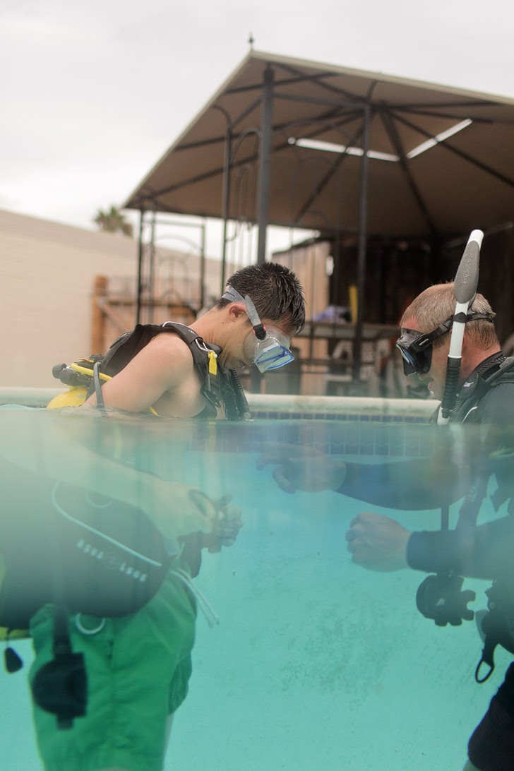 Lessons for Scuba Diving San Diego.