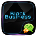 Black Business GO SMS icon