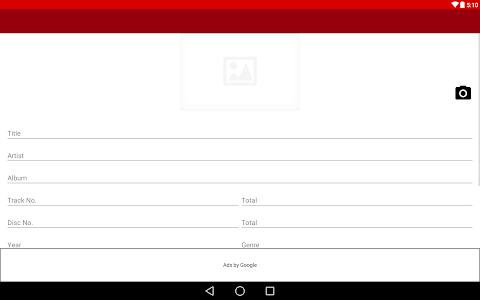 Audio Tag Editor screenshot 3