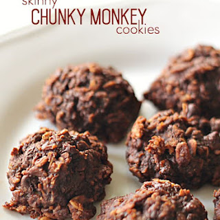 Skinny Chunky Monkey Cookies Recipe
