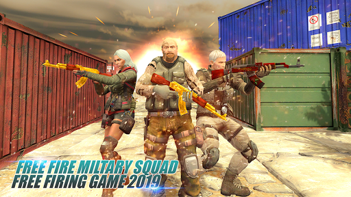 Free Military Firing Squad: Free Firing Game 2019 1.0 screenshots 1