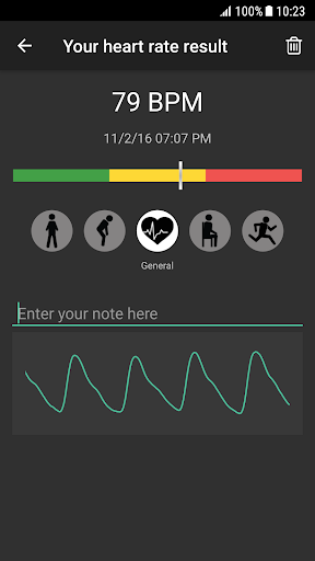 Heart Rate Plus - Pulse & Heart Rate Monitor 2.5.6 screenshots 2