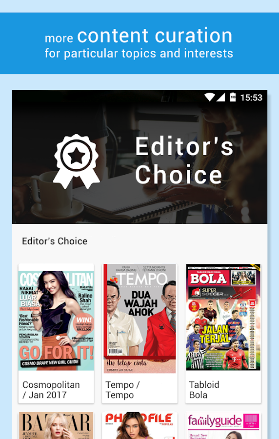 SCOOP Newsstand- screenshot