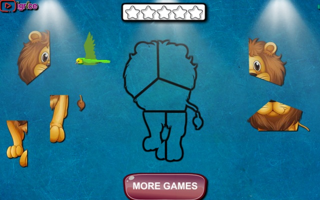 Cute Animal Shapes Game