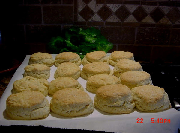 Yeast Biscuits  (healthier) Bonnie's Recipe