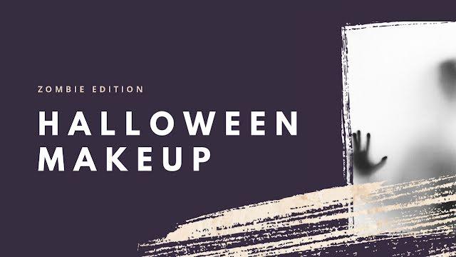 Halloween Makeup - Halloween Template
