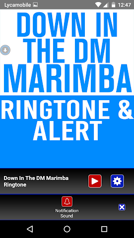 android Down In The DM  Marimba Tone Screenshot 2