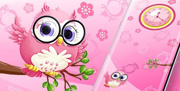 Pink anime cute owl princess android apps on google play pink anime cute owl princess screenshot thumbnail voltagebd Image collections