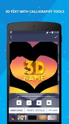 3D Name on Pics - 3D Text APK screenshot thumbnail 3