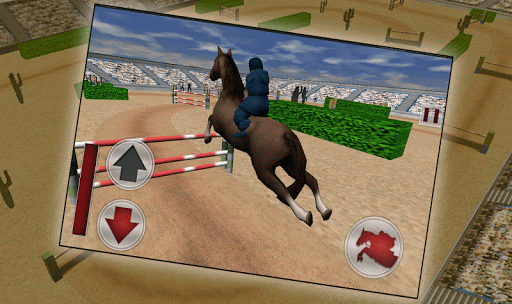 Jumping Horse Racing Simulator screenshots 2