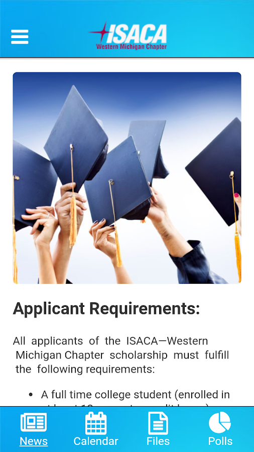 Western Michigan Chapter ISACA- screenshot