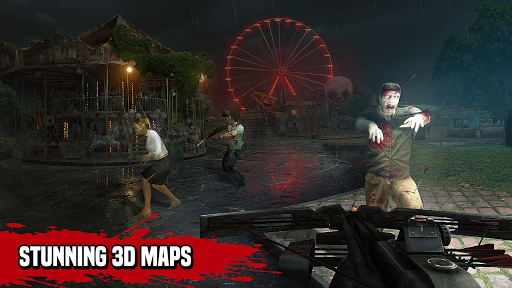 Zombie Hunter Sniper: Last Apocalypse Shooter apkpoly screenshots 5