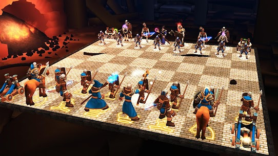 Chess 3D Free : Real Battle Chess 3D Online 1