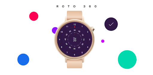 Roto 360 Watch Face for Android Wear app for Android screenshot