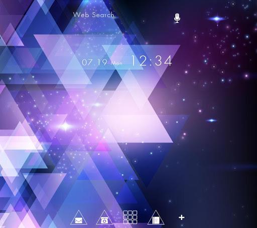 Galaxy of Triangles Wallpaper 1.0.0 Windows u7528 1