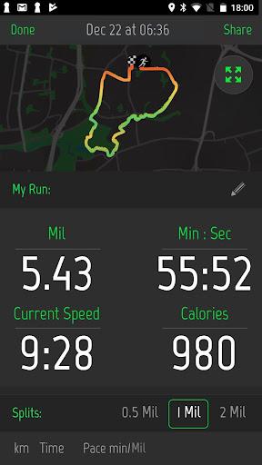 Running Distance Tracker + 2.0.1 screenshots 3