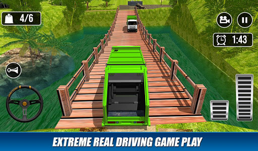 Offroad Garbage Truck: Dump Truck Driving Games 1.0.7 screenshots 2